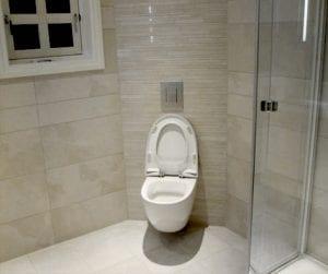 toalett med innebygd sistærne